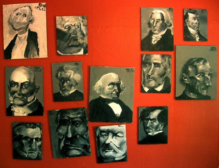 Ben's Wall of Presidents