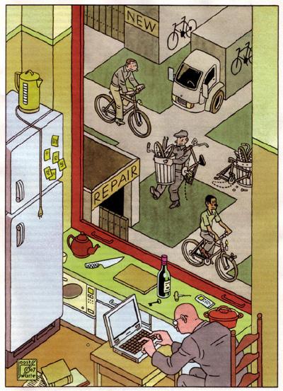 Illustration by Joost Swarte