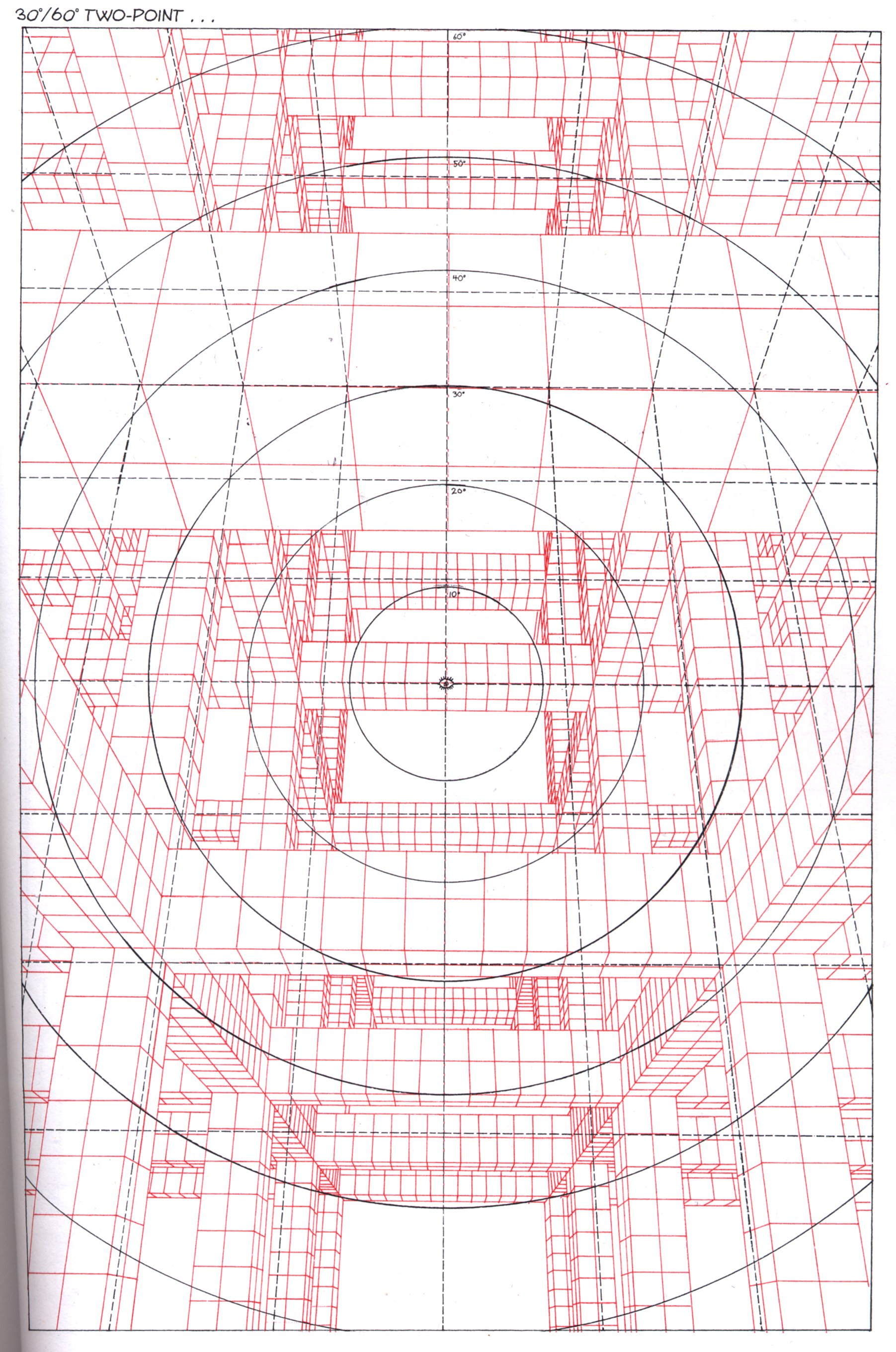 Grid from Perspective! For Comic Book Artists, 1997